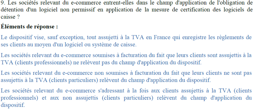 FAQ Loi de Finances 1