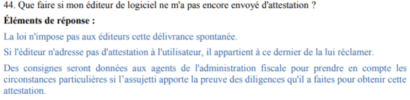 FAQ Loi de Finances 2