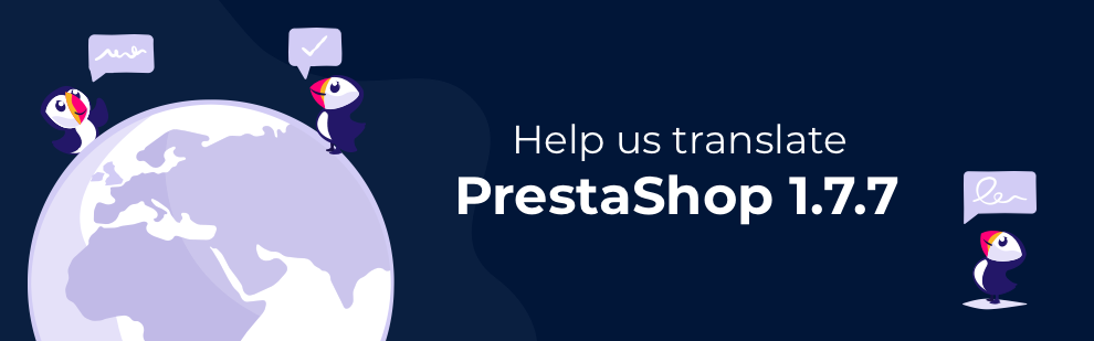PrestaShop 1.7.7 Translation